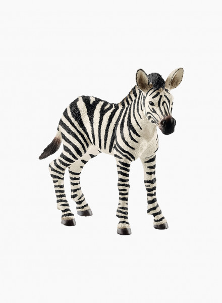 "Animal figurine ""Zebra foal"""