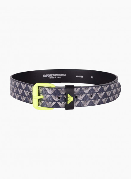 Logo band belt