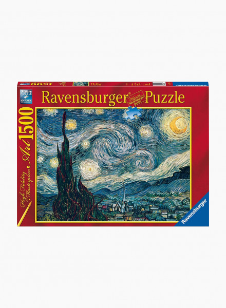 "Puzzle ""Vincent van Gogh: Starry Night"" 1500p"