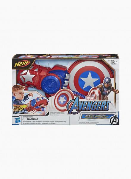 "Бластер Nerf Power Moves ""Мстители: Капитан Америка"""