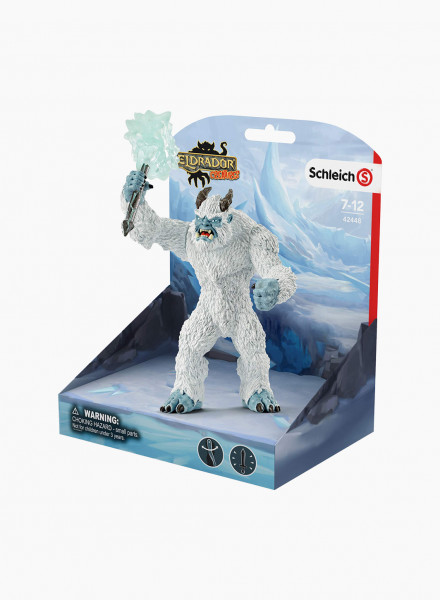 "Mythical animal figurine ""Blizzard bear with weapon"""