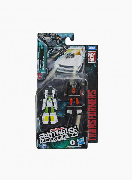 "Transformers Generations War for Cybertron Micromaster ""Hot Rod Patrol"""