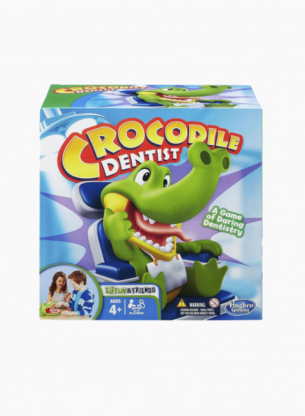 "Board Game ""Crocodile Dentist"""
