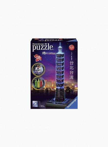 """3D Puzzle """"Taipei 101"""" 216p"""