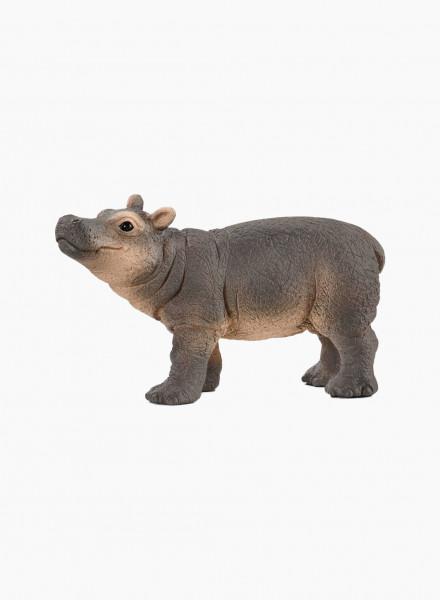 "Animal figurine ""Baby Hippopotamus"""