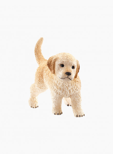 "Animal figurine ""Golden Retriever puppy"""