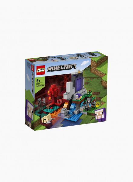 Կառուցողական խաղ Minecraft «Ավերված պորտալ»