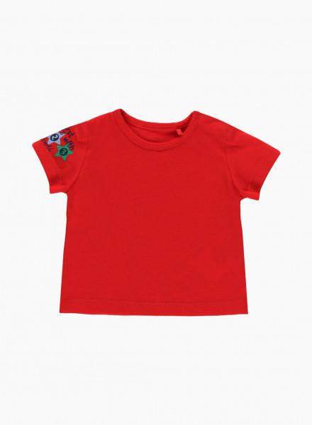 Т-shirt with sleeve print
