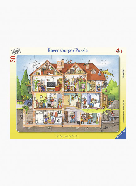 """Puzzle """"Look into the house"""" 30p"""