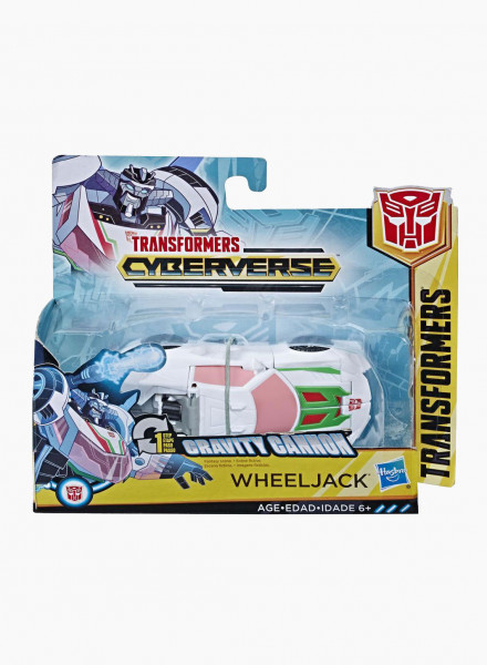 "Трансформер Cyberverse 1-Step Changer ""Wheeljack"""