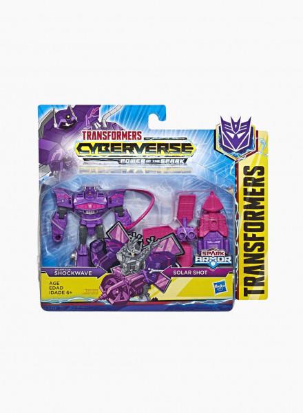 "Transformers Cyberverse Spark Armor ""Shockwave"""