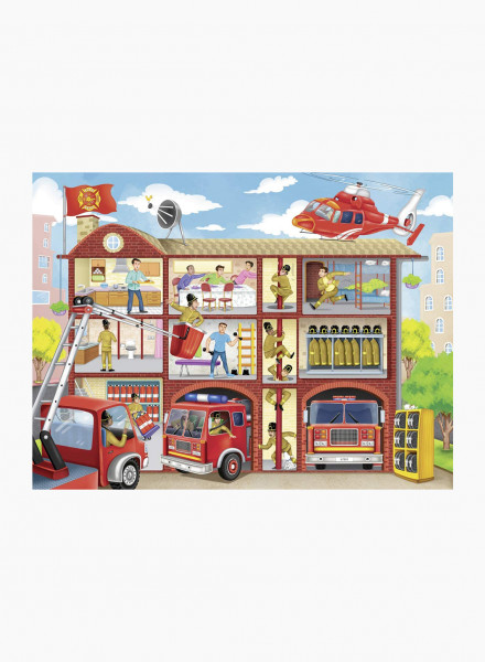 """Puzzle """"Firehouse Frenzy"""" 100p"""