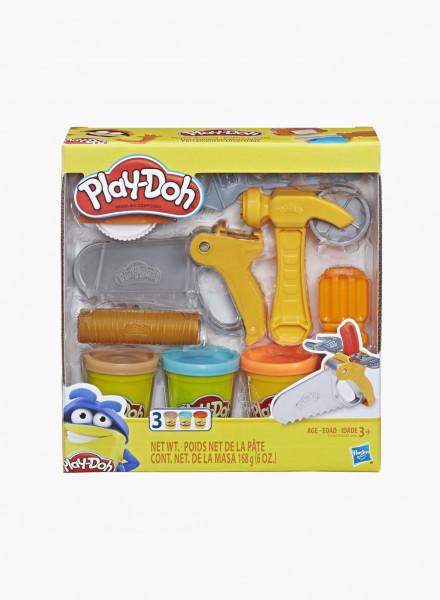 "Plasticine PLAY-DOH Set ""Tools"""