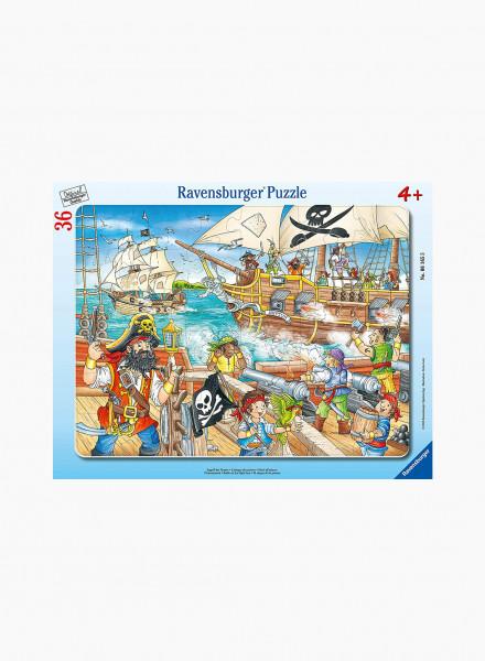 """Puzzle """"Attack of Pirates"""" 36p"""