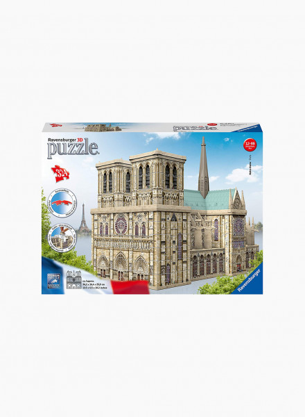 """3D Puzzle """"Notre Dame Paris"""" 324p"""