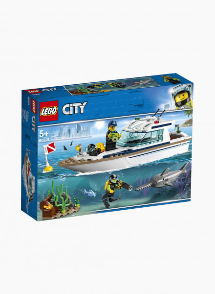 """Constructor City """"Diving yacht"""""""