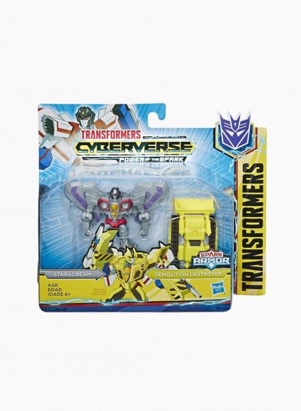 "Transformers Cyberverse Spark Armor ""Starscream"""