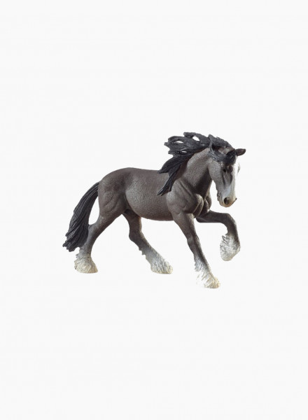 "Animal figurine ""Shire stallion"""