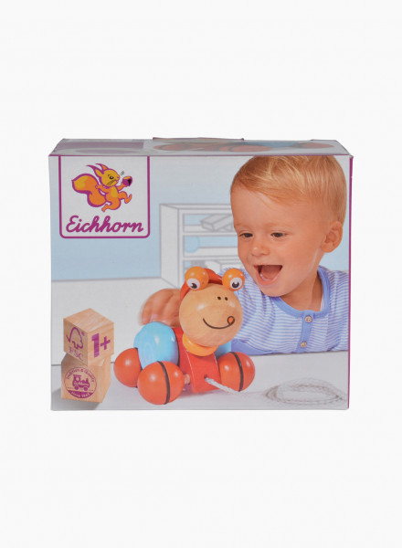 """Eichhorn Еducational toy """"Pull-along Animal, Snail"""""""