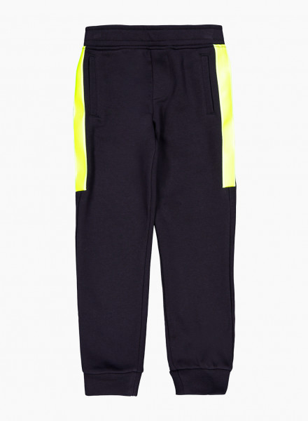 Sweatpants with contrast trim