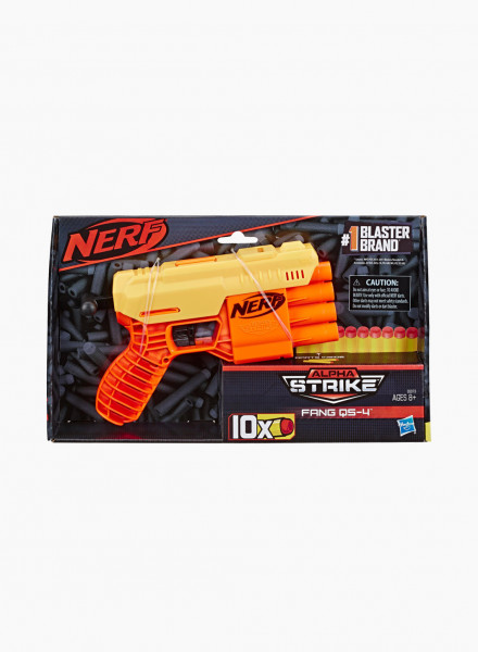 "Бластер NERF ALPHA STRIKE ""FANG QS 4"""