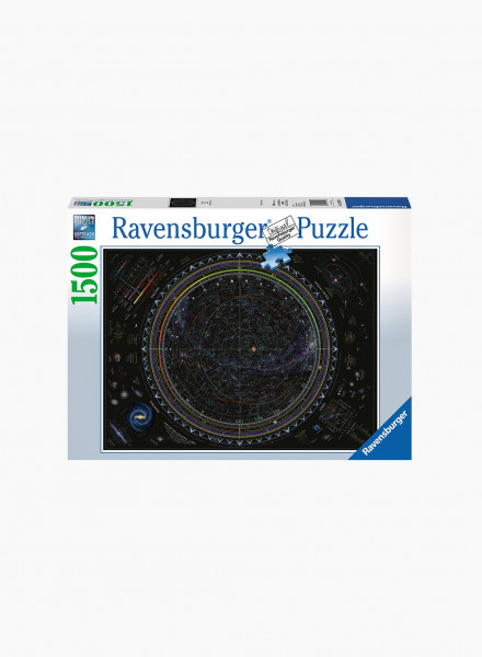 """Puzzle """"Map of the Universe"""" 1500p"""