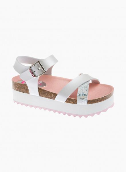 Criss-cross sandals
