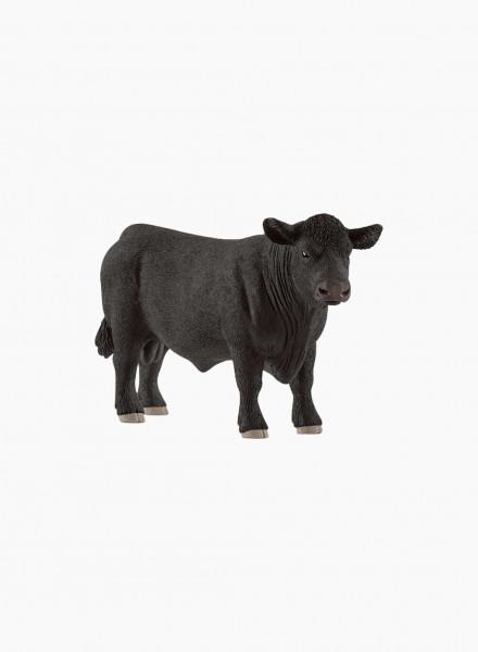 """Animal figurine """"Black Angus bull"""""""