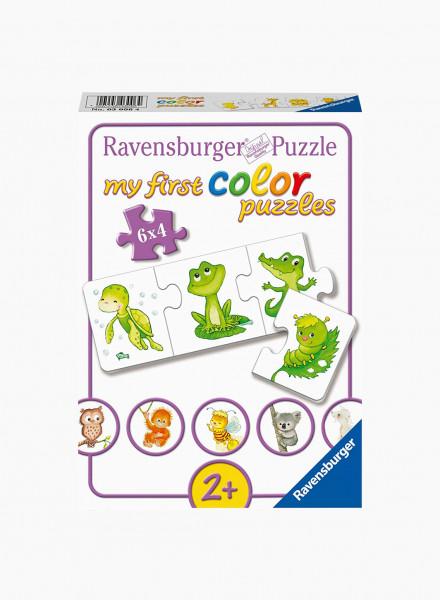 """Puzzle """"My Sweet Baby Animals"""" 6x4p"""