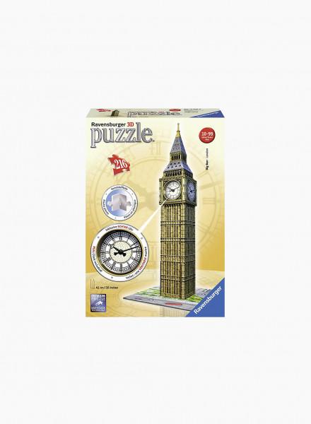 "3D Puzzle ""Big Ben with clock"" 216p"