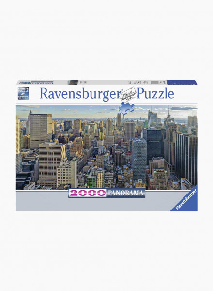 """Puzzle """"View over New York"""" 2000p Panorama"""