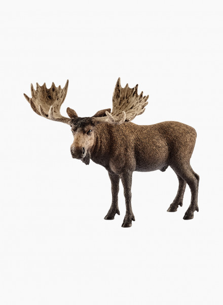 "Animal figurine ""Moose bull"""