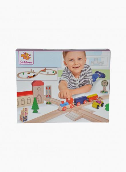 "Eichhorn Еducational toy ""Train, Figure-of 8 Railway"""