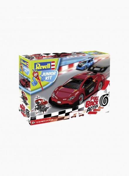 Կառուցողական հավաքածու «Մրցարշավային մեքենա» կարմիր