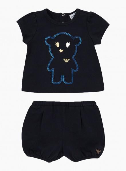 Kidswear Set Manga Bear: shorts and t-shirt