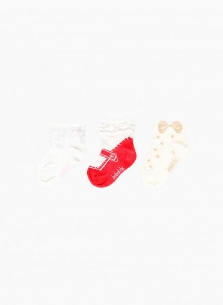 Baby socks set, 3 pair
