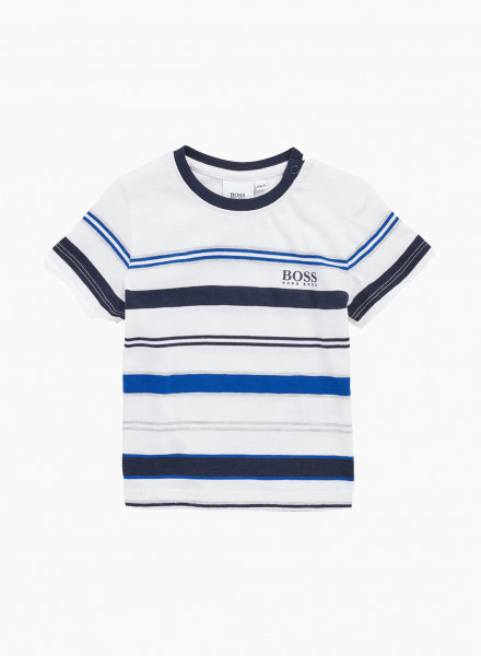 Kids T-shirt with Кnitted Stripes