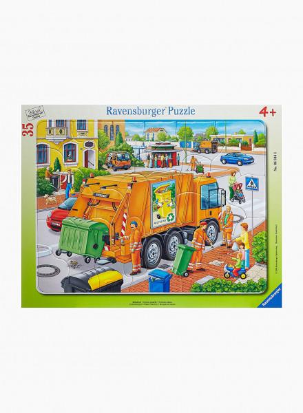 """Puzzle """"Garbage disposal"""" 35p"""