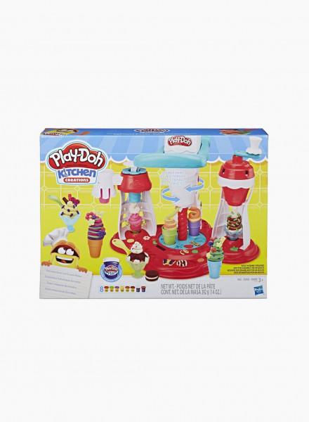 "Plasticine PLAY-DOH Set ""Ice Cream Maker"""
