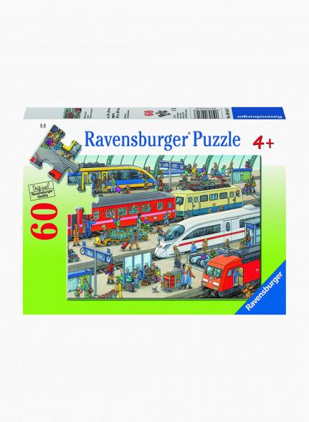 "Puzzle ""Railway Station"" 60p"