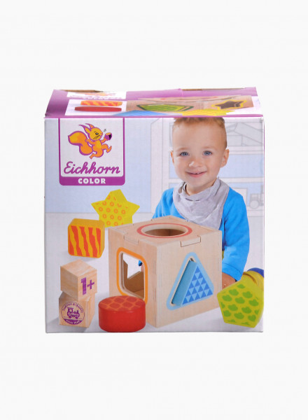 """Eichhorn Еducational toy """"Shape Sorting Box"""""""