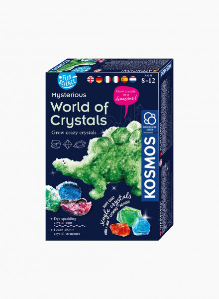 "Educational Game ""Mysterious World of Crystals"""