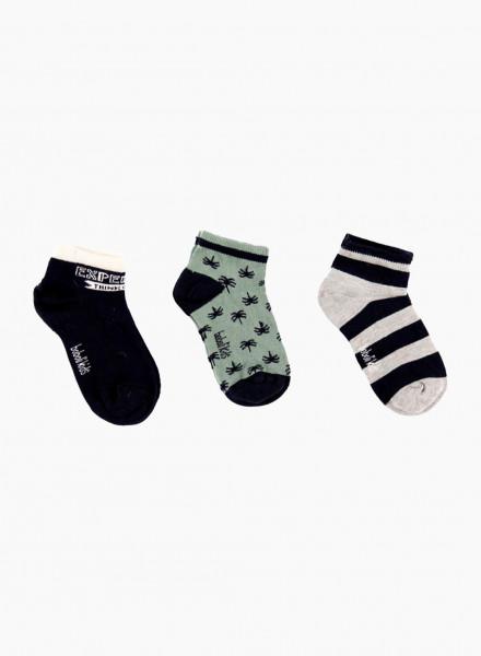 Socks set, 3 pair