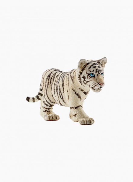 "Animal figurine ""Tiger cub, white"""