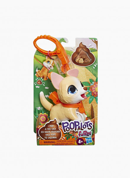 "Interactive Walking Toy FUR REAL FRIENDS Poopalots Lil' Wags ""Corgi"""