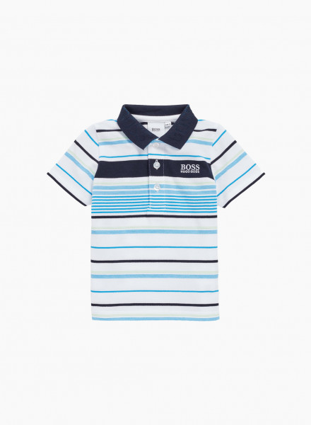 Kids Striped Polo Shirt