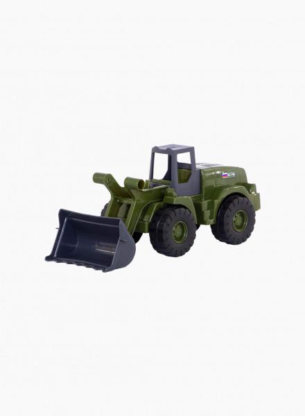 Военный трактор-погр