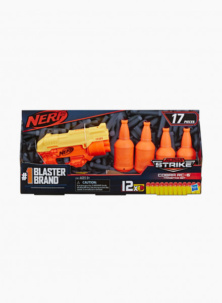 "Бластер NERF ALPHA STRIKE ""COBRA RC 6 TGT SET"""