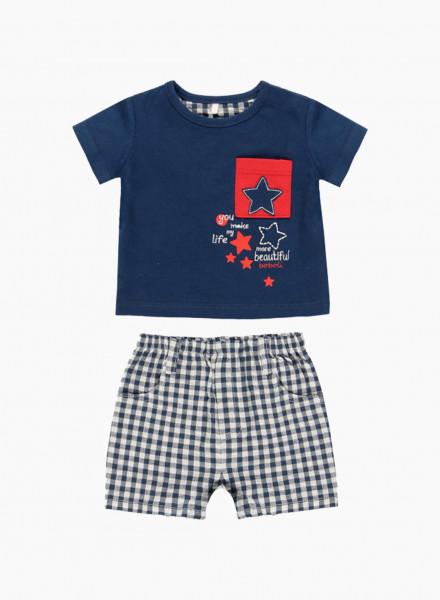 Kidswear Set: t-shirt and shorts