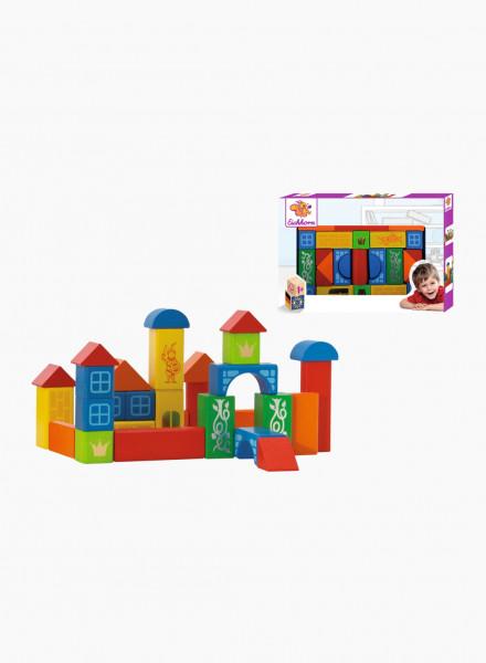 Eichhorn Կառուցողական Փայտե Խաղալիքների Հավաքածու